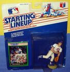 1989 GREG MADDUX Chicago Cubs Rookie - low s/h - Starting Lineup HOF 300+ wins