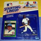 1989 ANDRE DAWSON Chicago Cubs #8 - low s/h- Starting Lineup World Series Champs