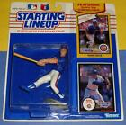 1990 MARK GRACE Chicago Cubs power swing -low s/h Starting Lineup + 1988 card