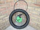 2001 Kawasaki KX 60 Front Wheel with Brakes and Lever
