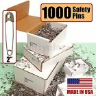 NiftyPlaza 1000 Extra Large Safety Pins Size 2 for Quilters Crafting Diapers