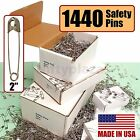 NiftyPlaza 1440 Extra Large Safety Pins 10 Gross Box Brand New Size 2 Crafting