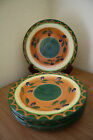 PFALTZGRAFF TUSCAN OLIVES DINNER PLATES (6) EVERYDAY 10 3/4