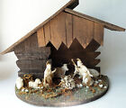Depose 7 pc nativity + creche Fontanini miniature figures 2 1 2 1970s vintage