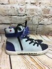 UGG Kids Disney Pixar Inside Out Sadness Blue High Top Sneakers Size 2