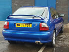 LARGER PHOTOS: 2003 MG ZS+ BLUE