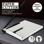 18 Manual Guillotine Paper Cutter Blade Metal Base Trimmer Scrap Booking A3 B7