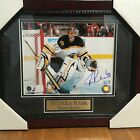 TUUKKA RASK - SIGNED AND AUTHENTICATED PICTURE - BOSTON BRUINS