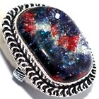 HOT FASHION # Dichroic Glass Ring US 7 Jewelry Gems Stone  A1509