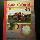 ABeka Book Gods World Science Series Third Edition K Kindergarten A Beka