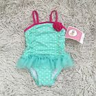 Circo Baby Girl Bathing Suit Toddler Girl 12 Months Pink And Teal