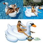 Inflatable Pool Party Unicorn Giant Swimming Raft Floats Ring Water Tube Summer