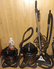 Lot 2 Rainbow SE Vacuum Cleaners Model D4C Power Nozzle PN2 AquaMate Motors Work