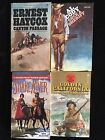 Lot Of Four Western Paperback Novels Various Authors