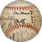 The Only Known 1941 Stan Musial Rookie St. Louis Cardinals Team Signed Baseball