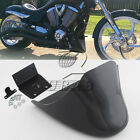 Black Chin Fairing Front Spoiler For Harley Sportster XL 883 XL1200 Custom 883C