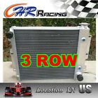 NEW ALUMINUM RADIATOR FOR JEEP WRANGLER TJ YJ CHEVY V8 SWAP CONVERSION