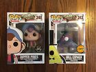 Funko Pop - Dipper Pines & Bill Cipher- Gravity Falls - Limited Chase Edition