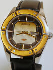 VINTAGE CITIZEN AUTOMATIC WATCH MENS 8200A SKELETON DAY DATE BIG PERFECT WORK