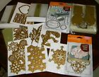Cricut Cuttlebug Huge Lot Mostly Anna Griffin Dies  Folders some retired  HTF