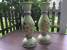 Tracy Porter wooden, signed Candlesticks