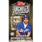 2016 Topps Archives Signature Baseball MLB Factory Sealed Hobby Exclusive Box