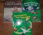 Abeka Academy 4th Grade Textbooks