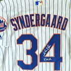 Noah Syndergaard Signed Autograph Rare New York Mets Jersey MLB Inscribed THOR