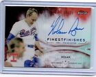 Nolan Ryan 2017 Topps Finest Finest Finishes Auto Autograph Card 25