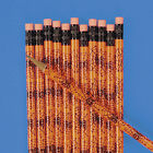 24 2 CREEPY SPIDERWEB SPIDER WEB Pencils HAUNTED HOUSE Halloween Party Favor3