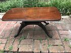 Vintage Duncan Phyfe Style Mahogany Wooden Coffee Table