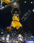 SHAQUILLE SHAQ ONEAL SIGNED LOS ANGELES LAKERS 2 HAND DUNK 16x20 PHOTO 15599 JSA