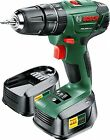 Bosch PSB 1800 LI-2 Cordless Hammer Drill Driver 2 x 18 V Batteries Kit Case New