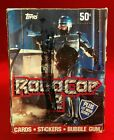 1990 ROBOCOP 2 box of Topps cards with poster