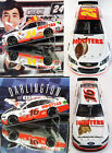 HOOTERS 2-CAR COMBO DEAL (CHASE ELLIOTT & GREG BIFFLE HOOTERS CARS) 1/24 ACTION