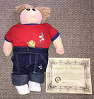Vintage! NEW Little People Pals Cabbage Patch Kid XAVIER ROBERTS Doll 1982 #7642