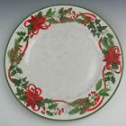 222 Fifth (PTS) China HOLIDAY FESTIVITIES Dinner Plate(s) VERY GOOD