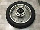 1985 HONDA XR600R XR600 XR 600 COMPLETE REAR WHEEL TIRE RIM HUB