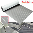 35X94 Grey Flooring Synthetic Teak EVA Foam Boat Decking Sheet Self Adhesive