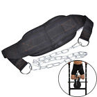 1X Dipping Belt Body Building Weight Lifting Dip Chain Exercise Gym Training JE