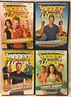4 The Biggest Loser workout DVD lot cardio max power sculpt weight loss yoga