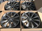 21 Tesla Model S 2014 2015 2016 2017 Factory OEM wheels rims Gray Staggered 21