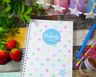 My Foody Diary compatible with Weight Watchers 12 months food diary planner
