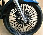 FAT SPOKE 21 FRONT WHEEL BLACK 21 X 35 HARLEY ELECTRA GLIDE ROAD KING STREET