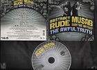 Abstract Rude & Musab - The Awful Truth - 2012 rap digipak CD