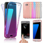 Shockproof 360 Silicone Clear Case Cover For Samsung Galaxy S9 S8 S7 edge
