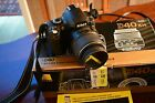 Nikon D D40 61MP Digital SLR Camera Black Kit w AF S DX 18 55mm Lens