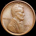 1909 VDB  Lincoln Wheat Small Cent ~~Choice BU