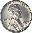 Choice Uncirculated - 1943-D - STEEL CENT - Lincoln Wheat Cent - Historic *799