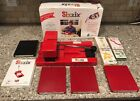 Lot Sizzix Red Die Cutter System Cutting Pad 8 Dies Scrapbooking Tool 38 0605